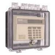 Safety Technology 7500C Polycarbonate Enclosure with Open Backbox for Flush Mount Applications and Interior Key Lock