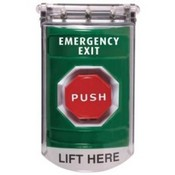 Safety Technology SS2118EX Stop Station Push Button Unit Green