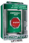 Safety Technology SS2189EX Emergency Stopper Station Cover with Horn & Spacer