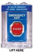 Safety Technology SS2449EX Blue Pushbutton Emergency Access