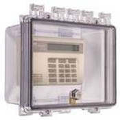 Safety Technology STI-7500A Polycarbonate Enclosure with Enclosed Deep Backbox and Interior Key Lock
