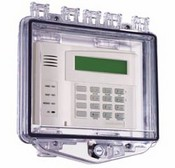 Safety Technology STI-7510F Polycarbonate Enclosure with Enclosed Backbox and Exterior Key Lock