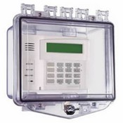 Safety Technology STI-7511/A Polycarbonate Enclosure With Exterior Thumb Lock/ Enclosed Deep Back Box