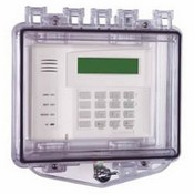 Safety Technology STI-7511/C Polycarbonate Cover With Exterior Thumb Lock/ Open Spacer For Flush Mount