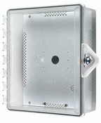 Safety Technology STI-7521-HTR Heated NEMA 4X Polycarbonate Enclosure - Thumb Lock - SF-7521HTR
