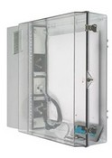 Safety Technology STI-7550AC Polycarbonate Protective Cabinet with A/C
