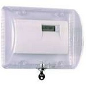 Safety Technology STI-9110 Thermostat Protector with Key Lock - Clear