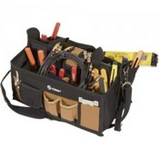 Steren 204-451 15 Pocket Tool Bag with 16' Center Tray Compartment