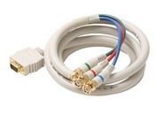 Steren 253-412IV 12´ RGB SVGA to 3 BNC Component Cables