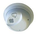 Sperry West SW2250A Color Smoke Detector Covert Security