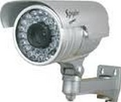 Sperry West  SWIR590C Varifocal Ir Up To 165ft Range With 25ft Facial 520 Line, 36led With Mountt