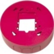 System Sensor BBSC2 Red Ceiling Back Box Skirt