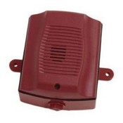 System Sensor HRK-R Red 12/24-Volt Horn for Outdoor Ceiling or Wall (Replacement Unit)