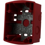 System Sensor SBBR Wall Mount Surface Back Box, Red