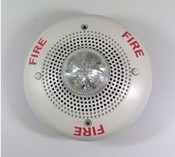 System Sensor SP2C2415 Spectralert 15cd 24v White Ceiling Speaker/Strobe