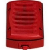 System Sensor SPRK Wall, Outdoor, Red, Speaker Only