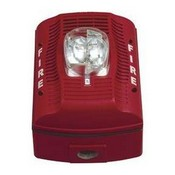 System Sensor SPSRK Red Outdoor Wall-Mount Speaker Strobe
