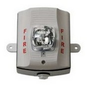 System Sensor SWHK White Outdoor Strobe, High Candela