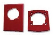System Sensor TRHS Red Trim Ring For Use With Wall Mounted Horn/Strobe Devices