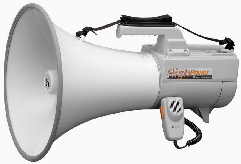TOA Electronics ER-2230W 30-Watt Shoulder Type Megaphone with Whistle