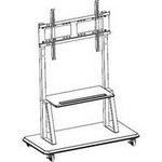 Totevision CT55 Trolley Cart For 42