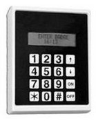 GE Security TPZIKE2 16 Button Keypad W/LCD'S Built-In Reader Interface