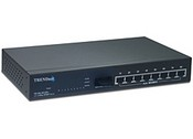 Trend Net TE100-S810FI 8-Port 10/100Mbps Layer 2 Managed Switch with 100Base-FX Port