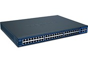 Trend Net TEG-2248WS 48-Port 10/100Mbps Web Smart Switch With 4 Gigabit Ports and 2 Mini-GBIC Slots