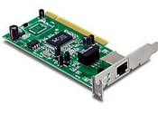 Trend Net TEG-PCITXRL Low Profile Gigabit PCI Adapter