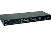 Trend Net TEG-S224 24-Port 10/100Mbps Switch with 2 Gigabit Ports