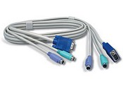 Trend Net TK-C06 6ft PS/2/VGA KVM Cable