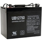 Universal Power Group 45821 12 Volt 75 Ah Sealed Lead Acid Battery