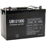 Universal Power Group 45978 12 Volt 100 ah (12v 100a) UB121000 Fire Alarm Control Panel Battery