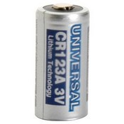 Universal Power Group CR123 Battery 3 Volt 2/3 A Lithium