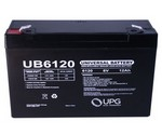 Universal Power Group D5736 6V 12Ah Battery