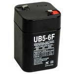 Universal Power Group D5897 6V 5Amp Lantern Battery