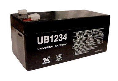 universal power group ub1234 battery 12v 3 4ah. Black Bedroom Furniture Sets. Home Design Ideas