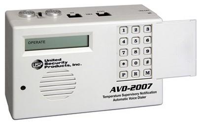 Usp Avd 2007 Auto Voice Dialer With Built In Temperature