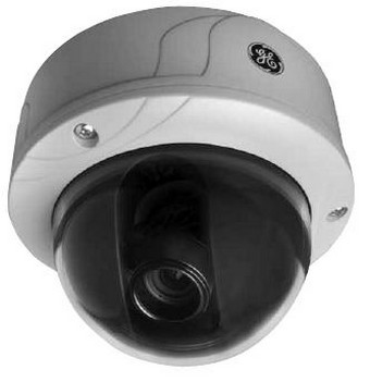 GE Security UVD-IP-XP3DNR-VA9 UltraView IP WDR H.264 True Day/Night Rugged Dome, H.264, 4CIF/540 TVL, UTP, BNC, 9-22mm AI IR Corrected, POE/12VDC/24VAC, NTSC