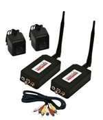 Videocomm TC-2445 2.4 GHz Indoor 4-Channel Transmitter and Receiver - Range 1000'