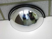 Vision Metalizer DPB1812 Mirror, Half Dome, Acrylic, 18 In