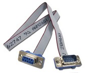 ELK W040A Cable Assembly DB9 PIN Serial Ribbon