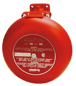 Cooper Wheelock CSX10-24-R Explosion Proof Single Stroke Bell 24dc Red - Indoor