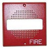 Cooper Wheelock ECHSG70W-FR Grille For E70/Strobe - Red