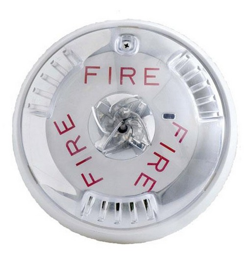 Cooper Wheelock Hswc Fire Alarm Horn Strobe White Ceiling