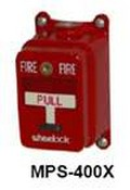 Cooper Wheelock MPS-400X Pull Station Single Action Explosion Proof
