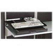 Winsted 88398 Rack Mount Swivel Keyboard Shelf (Black)