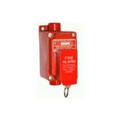 Edwards XAL53 Pull Station, Fire Alarm, Explosion-Proof, Red