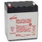 Enersys NP38-12RFR 12 Volt/38 Amp Hour Sealed Lead Acid Battery with 10/32 Receptacle Terminal, Flame Retardant Case
