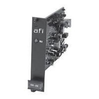 American Fibertek RR-86 Single Fiber Rack Card Receiver - Phone Line Interface